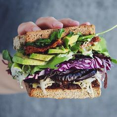 #Veggie #Sandwich w/ Miso Roasted Eggplant, Tahini, #Avocado & more by @shanyaraleonie posted by @beautifulcuisines. Check out @beautifulcuisines for more delicious moments. Get the recipe & 20+ more of our fav Vegan Lunch recipes from the NEW Vegan Lunch Feed on our Website   link in profile. (Feed edited by @peachytales ) Want more vegan recipes Follow our feed @thefeedfeed.vegan, where we post two of our fav vegan recipes each day!  #feedfeed