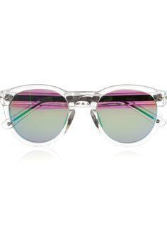 Keaton D-frame acetate sunglasses.  by RAG & BONE.