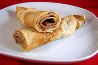 Pannenkoeken, veganistisch, zonder melk, zonder ei Low Calorie Recipes, Vegan Recipes, Snack Recipes, Vegan Food, Crepes, Bio Food, Vegan Pancakes, Vegan Cake, Vegan Dishes