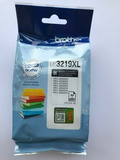 Genuine Brother LC3219 XL High Capacity Black Ink Cartridge (LC3219XLBK) 60mls #Brother