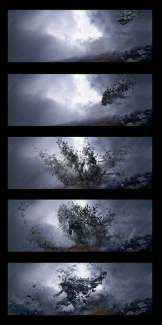 ArtStation - Dracula Transformation, done for Dracula Untold, Andrei Riabovitchev