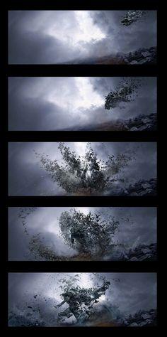 ArtStation - Dracula Transformation, done for Dracula Untold, Andrei Riabovitchev