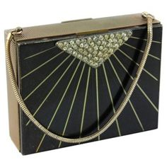 Check out this item at One Kings Lane! Art Deco Compact Purse