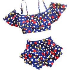 3Pcs//Set Infant Kid Baby Girls Swimsuit Leopard Print Bikini Swimwear Beachwear Swimming Suit Outfits 3M-3Y
