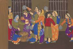 Artwork page for 'Prison Paintings Gulsun Karamustafa, 1972 Social Exclusion, Military Coup, North Africa, Naive, Bold Colors, Prison, Opera, History, Illustration