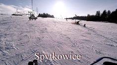 Spytkowice Ski - Kompleks Beskid - widok na trasy z drona Dji Phantom