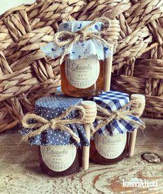 www kamalion mx Memories Favors Honey Jar Jar Flask blue It s a boy . Amazing Gardens, Beautiful Gardens, Recuerdos Baby Shower Niña, Diy Garden Decor, Baby Boy Shower, Flask, Bridal Shower, Craft Projects, Basket