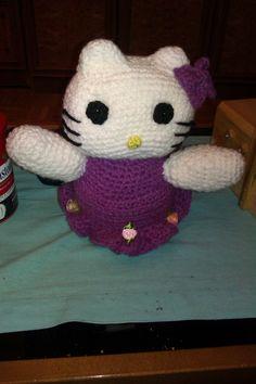 Hello Kitty a ganchillo