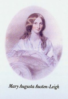 Mary Augusta Austen-Leigh wrote a biography of her famous relative entitled, Personal Aspects of Jane Austen
