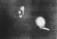 This picture of Nikola Tesla is considered the first photograph ever taken by phosphorescent light.  The photograph was taken in January 1894, years before fluorescent light became popular, and its time of exposure was 8 minutes. Tesla expanded on research by Alexandre Edmond Becquerel and experimented with fluorescent lights, but it was engineer and GE consultant Arthur Compton who in the 1930s convinced GE to produce fluorescent lamps for the public.  Image: Tesla Universe via io9