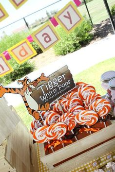 Hostess with the Mostess® - Winnie the Pooh Themed First Birthday