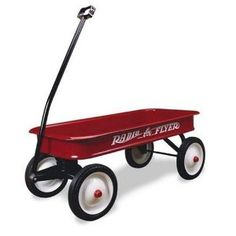 The Radio Flyer is an American classic: Durable, Dependable and Utilitarian, even if its owner steers it off-course once in a while. You always know what you're getting -- just like Vice President Joe Biden.