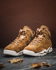 on sale 97a88 c4421 Nike Air Jordan VI  Flax