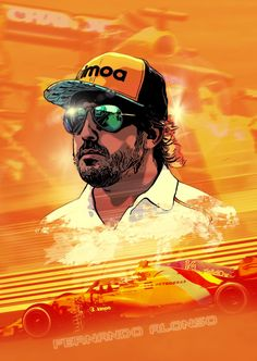 I created this artwork on the iPad Pro with Affinity Photo. Alonsos last Race in the Formula 1 at Abh Dhabi in 2018 Real Racing, F1 Racing, Formula 1 Car Racing, Fernando Alonso Mclaren, F1 Motorsport, Affinity Photo, Mclaren F1, Checkered Flag, Animation Reference