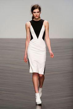 Zoe Jordan at London Fashion Week Fall 2013 - StyleBistro