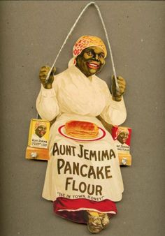 AUNT JEMIMA PANCAKES SYRUP KITCHEN WOOD WALL SIGN PLAQUE DECOR VTG. STYLE