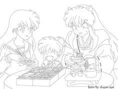 Inuyasha Coloring Book See More Soon To Be Dead Flea By Shinta Inudeviantart On DeviantART