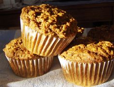 Orange-Oatmeal Muffins: easy to make, whole foods that are filled with ...