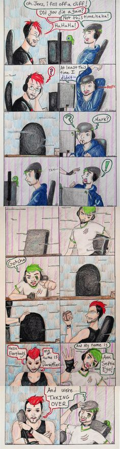 Taking Over: DarkxAnti by Nevareck<<<<<<< *high pitch screams**** Markiplier, Pewdiepie, Ethan Crankgameplays, Darkiplier And Antisepticeye, Youtube Memes, Banana Bus Squad, Jack And Mark, Septiplier, Amy