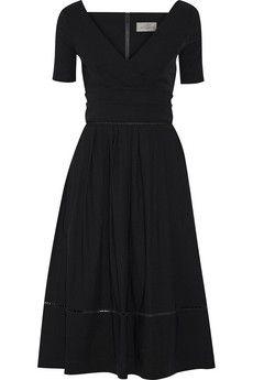 Preen by Thornton Bregazzi Ade strech-cady dress | NET-A-PORTER