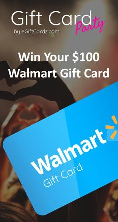 Enter for a Chance to Win a Walmart Voucher! Gift Card Deals, Best Gift Cards, Paypal Gift Card, Itunes Gift Cards, Visa Gift Card, Gift Card Giveaway, Free Gift Cards, Free Gifts, Gift Card Basket