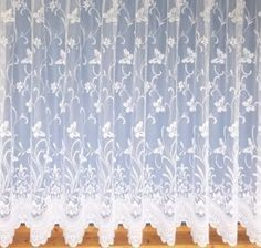 Trailing Butterfly Net Curtain