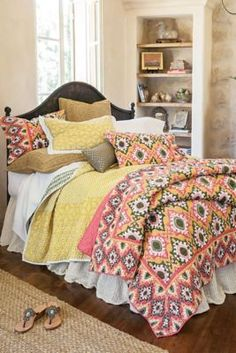 Sofia Ikat Quilt from Soft Surroundings
