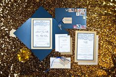 Formal Doctor Who wedding invitations