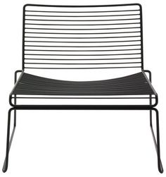 Hee Low armchair Black by Hay - Design furniture and decoration with Made in Design