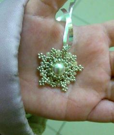 "MK-10 Earrings ""Snowflakes"" - Fair Masters - handmade, handmade"