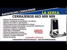 CERRAJEROS LA XEREA VALENCIA 603 909 909