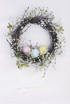 Find Spring Wreath Easter Eggs On White stock images in HD and millions of other royalty-free stock photos, illustrations and vectors in the Shutterstock collection. Thousands of new, high-quality pictures added every day. Door Wreaths, Grapevine Wreath, Burlap Wreath, Flyer Design Inspiration, Wooden Background, Easter Wreaths, Easter Crafts, Royalty Free Photos, Easter Eggs