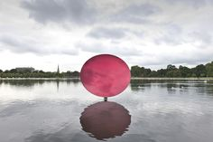 Sky Mirror, Red | Anish Kapoor | Artists | Lisson Gallery