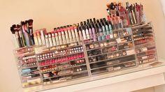 Ideias para organizar produtos de maquiagem