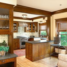 Fabulous 101 Awesome Craftsman Kitchen Design Ideas & Remodel Pictures https://decorspace.net/101-awesome-craftsman-kitchen-design-ideas-remodel-pictures/