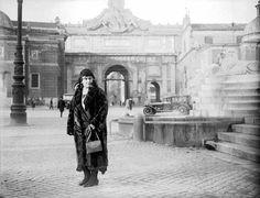 Vintage Italian Photographs ~ MARIA MONTESSORI A PIAZZA DEL POPOLO 1930