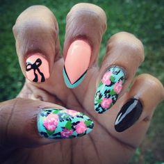 My Betsey Johnson nails :)