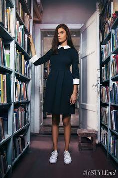 Осенняя коллекция Mallena «Back to school»: это строгие силуэты, монохромные цвета, теплые натуральные ткани и длина миди.  #Mallena #newcollection #InSTYLEmd #InSTYLEmoldova #magazine