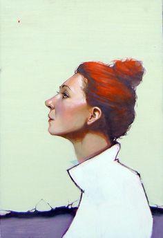 paintings by Przemek Blejzyk, via Behance