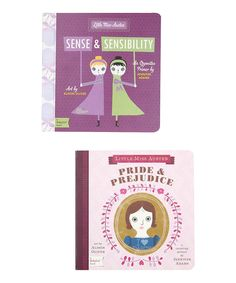 Take a look at this Jane Austen Board Books on zulily today!