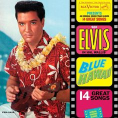 Elvis Presley - Blue Hawaii on Limited Edition 180g LP~ I remember my mom always played this record ❤️