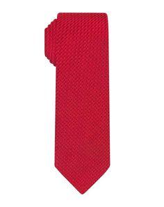Red Prometeo Grenadine Skinny Tie