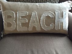 A personal favorite from my Etsy shop https://www.etsy.com/listing/233885793/beach-decorative-pillow