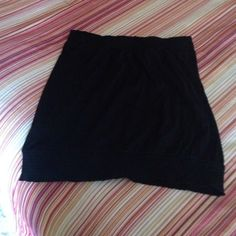 Black tub top!! NWOT, bought online had no tags, ended up to be to small for me there is an elastic waist band/and top relaxed fit. ❌no swap❌ Old Navy Tops