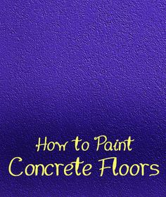 If you have a concrete floor beneath the carpet in your home, consider removing the carpet and using the concrete sub floor as your finished floor.  In order for the concrete sub floor to look finished, consider painting it.  Here are instructions on how to paint a concrete floor.