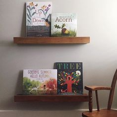 Here are some of our favorite books about the changing seasons (see details below). ————————————————————— 1. Up in the Garden and Down in the Dirt by Kate Messner with art by Christopher Silas Neal 2. Because of an Acorn by Lola M. Schaefer with Adam Schaefer with art by Frann Preston-Gannon 3. Goodbye Summer, Hello Autumn by Kenard Pak 4. Tree by Britta Teckentrup #R