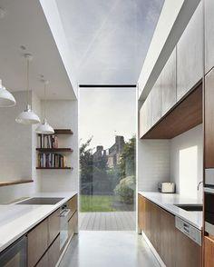 The Garden Kitchen by Fraher Architects. (2013) Location: #London #England #architectdesigne insta