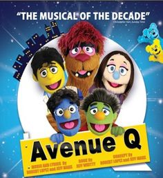 Avenue Q at the Redgrave Theatre 26th - 29th August