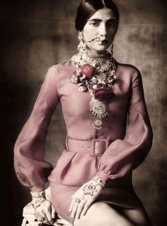 Paolo Roversi for Vogue Italia, January 2013