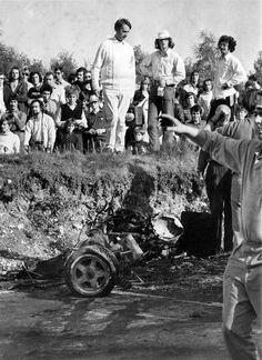 Jo Siffert zginął podczas niezaliczanego do punktacji mistrzostw F1 i zarazem kończącego sezon 1971 wyścigu na torze Brands Hatch. Na 16. okrążeniu w BRM prowadzonym przez Sifferta złamało się zawieszenie. W efekcie samochód wypadł z toru w zakręcie Hawthorn's Bend, odbił się w zagłębieniu pobocza i stanął w płomieniach.